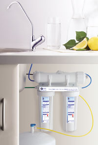 Reverse Osmosis Filtration System for under your sink