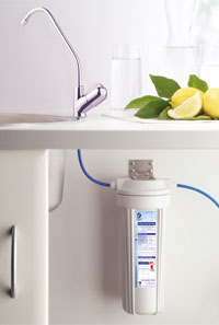 the Single Filter System has a slimline housing but still retains the removal rating of the twin