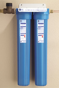 The Whole Building Filter System reduces taste, odour, chlorine, chemicals and sediment down to 5 microns
