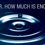 Water, how much is enough ?
